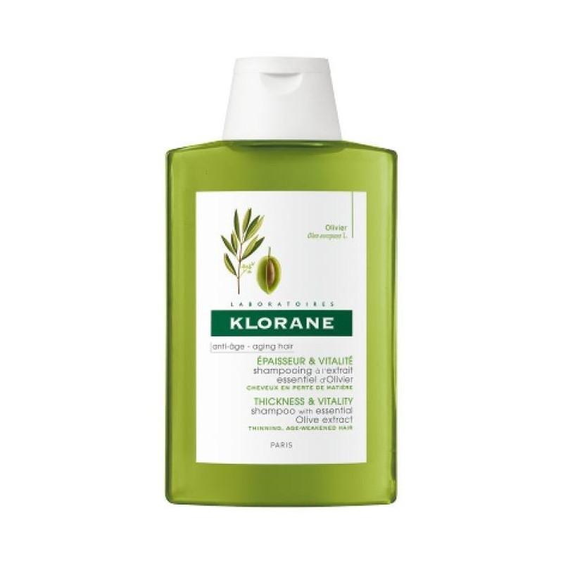Klorane - shampoo all'estratto di ulivo 400 ml