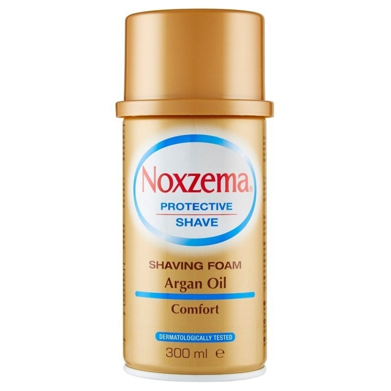 NOXZEMA - Schiuma da barba all'olio di argan 300 Ml