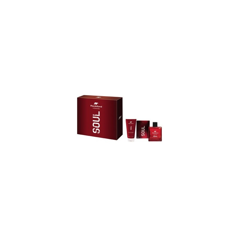 ROCKFORD - Cofanetto Soul - Eau de toilette 100 ml + After Shave Balm 100 ml