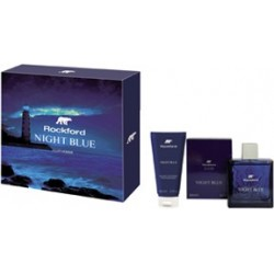 Cofanetto Night Blue Il cofanetto è composto  da  Eau de toilette 100 ml + After Shave Balm 100 ml