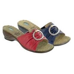 Calzatura Femminile  Sandalo Ciel  In Pelle Colore Blu N. 37