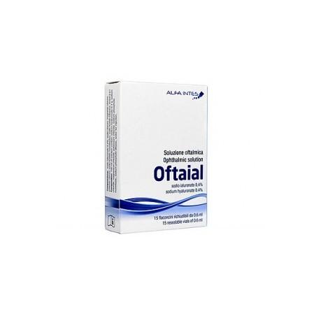 Alfa Intes - oftaial soluzione oftalmica idratante 15 flaconcini 0,6 ml