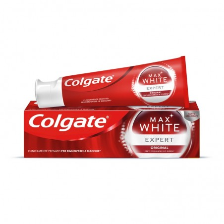 COLGATE - Max White Expert - dentifricio sbiancante 75 ml