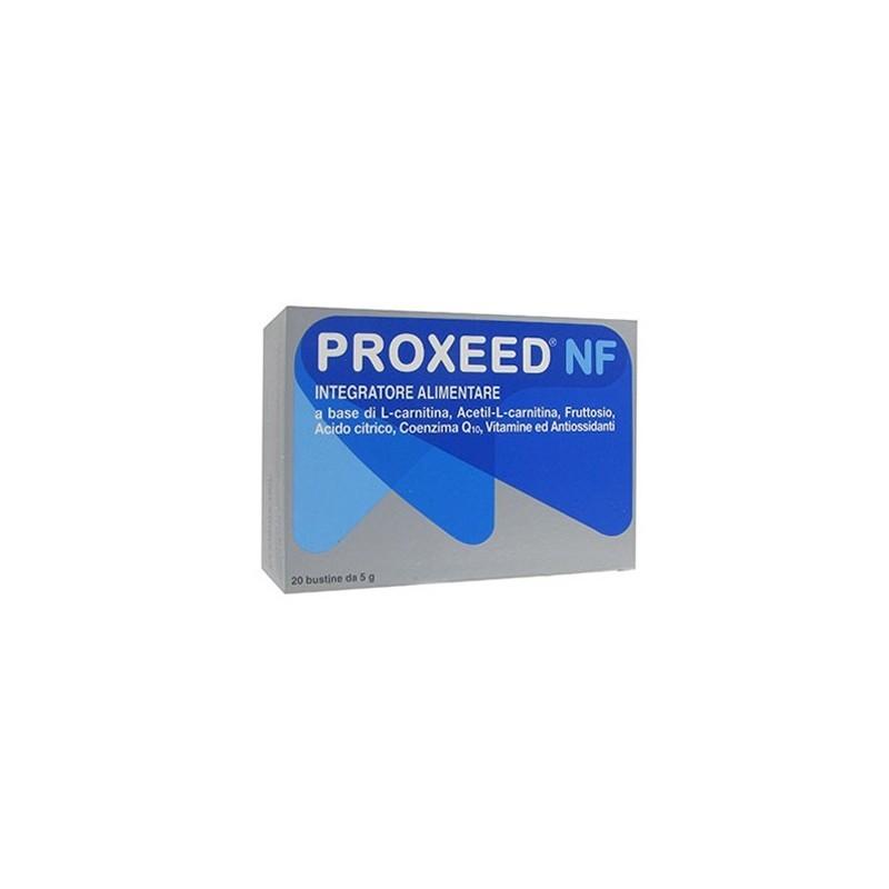 ALFASIGMA - Proxeed NF - Integratore Alimentare Di Vitamine E Antiossidanti 20 Bustine