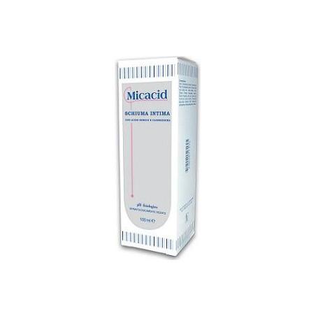 Detergente Intimo Schiuma Vaginale  Micacid 100 Ml