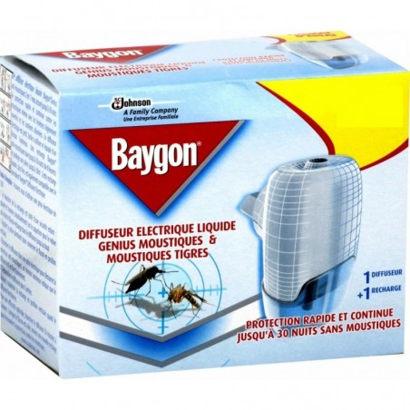 BAYGON - Genius liquido - Vaporizzatore + ricarica liquida
