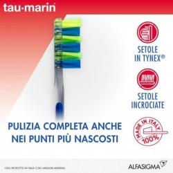 Spazzolino Da Denti Manuale Con Setole Incrociate Rigide E Semi Rigide Interdentale