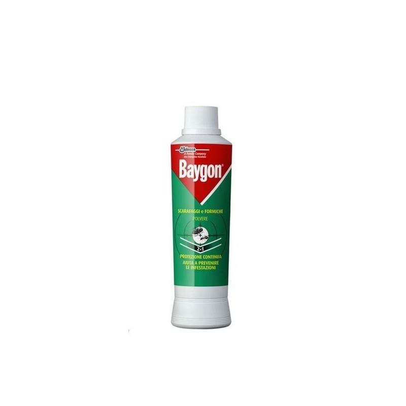 BAYGON - insetticida per scarafaggi e formiche polvere in grani 250 g