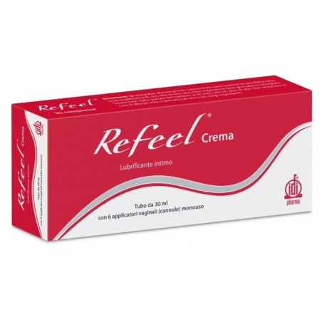 IDIPHARMA - refeel crema vaginale protettiva lubrificante e lenitiva 30 ml