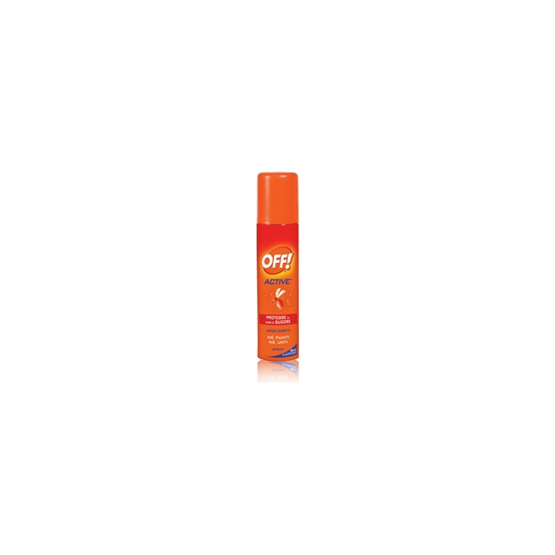 OFF - active - spray antizanzare resistente al sudore 100 ml