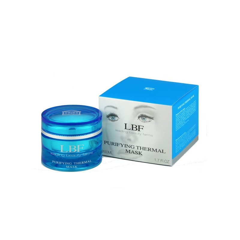 Lbf Cosmetics - purifying thermal mask maschera purificante 50 ml