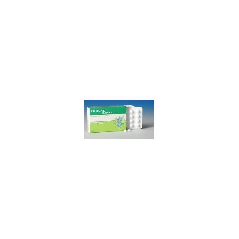 ANGENERICO - Biolac Senna 40 Compresse - Integratore Alimentare Per Il Transito Intestinale e Stipsi