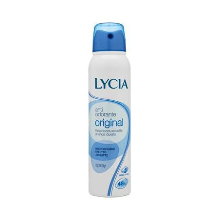 LYCIA - deodorante antiodorante original spray 150 ml