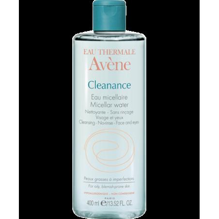 Avene - Cleanance - Acqua Micellare detergente struccante viso e occhi 400 ml