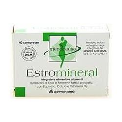 estromineral 40 compresse - integratore per i disturbi della menopausa