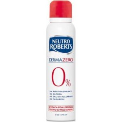 deodorante dermazero ipopallergenico senza coloranti, spray 150 ml