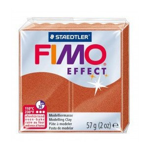 Fimo Soft panetto pasta modellabile cognac 57 g