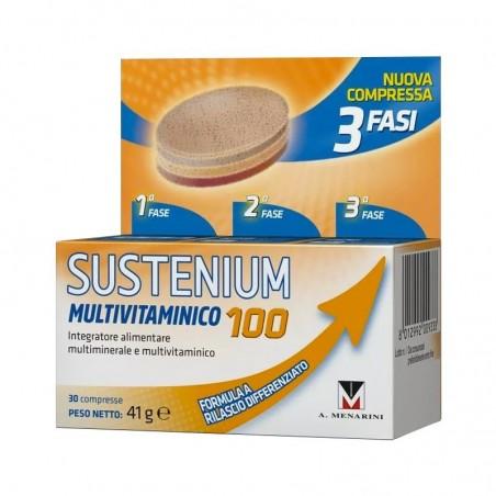MENARINI - sustenium multivitaminico 100 30 compresse - integratore alimentare