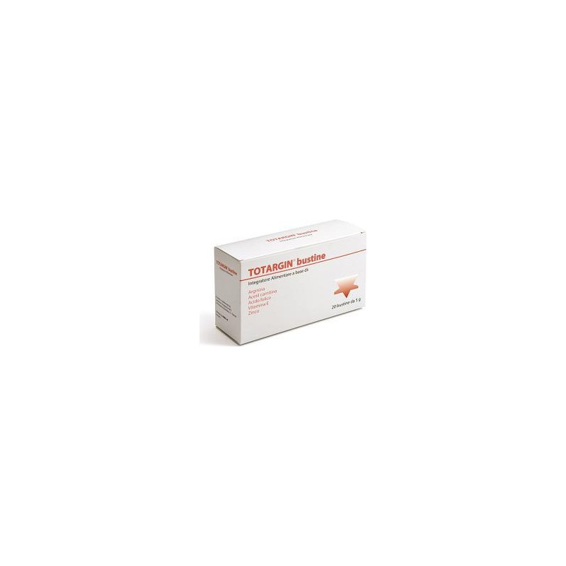BREA - totargin integratore alimentare a base di arginina 20 bustine  5 g