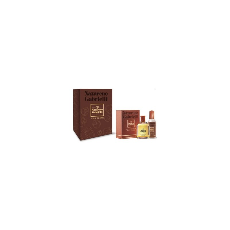NAZARENO GABRIELLI - Cofanetto Classico Uomo - Eau de toilette 100 ml VAPO + Deo Parfum 100 ml