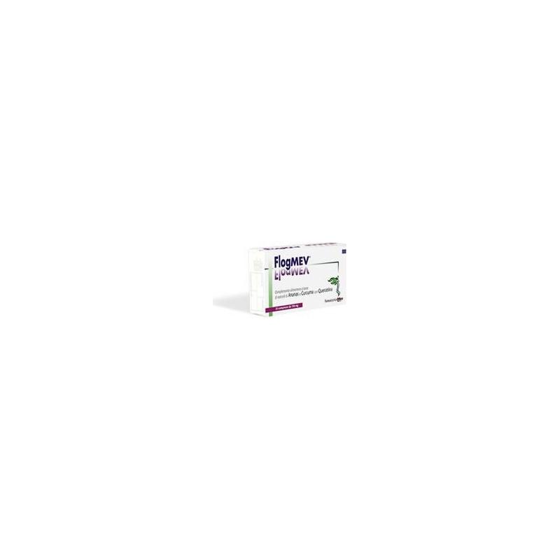 FARMACEUTICA MEV - Flogmev 10 Compresse - Integratore alimentare Per Edema Ed Infiammazioni