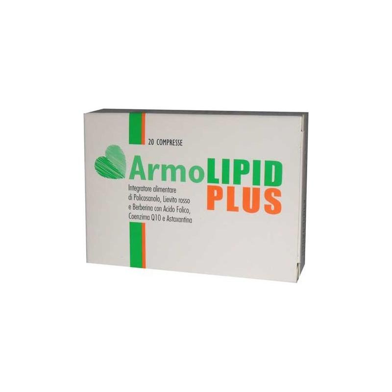 Armolipid Plus - Integratore Alimentare per il controllo del colesterolo 20 Compresse