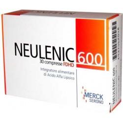 Integratore Alimentare Antiossidante Del Metabolismo Cellulalare Neulenic 600 30 Capsule