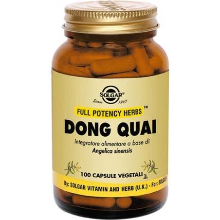 SOLGAR - dong quai 100 compresse vegetali - integratore per i disturbi della menopausa