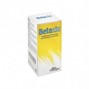 Betazin Gocce 30 Ml - Integratore A Base Di Vitamine E Sali Minerali