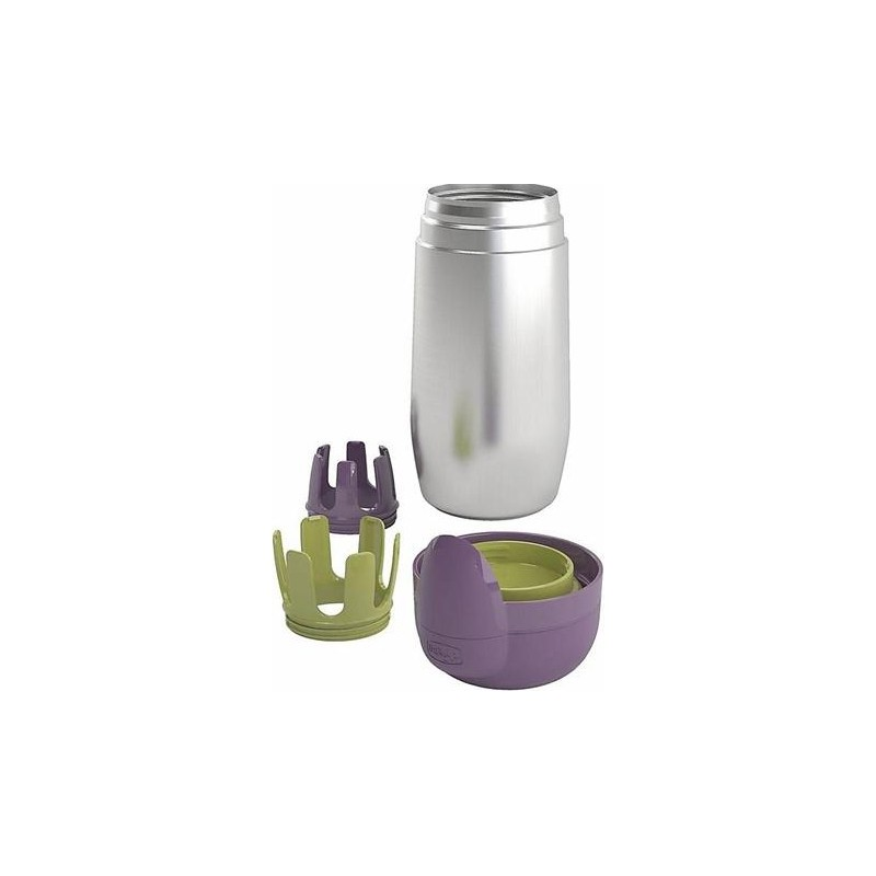 Chicco - Porta Biberon Pappacalda step up family Inox