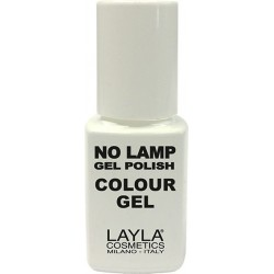 no lamp gel polish smalto semipermanente n. 9 live red