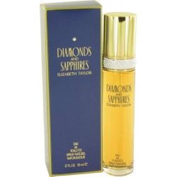 Diamonds and sapphires - eau de toilette donna 50 ml vapo