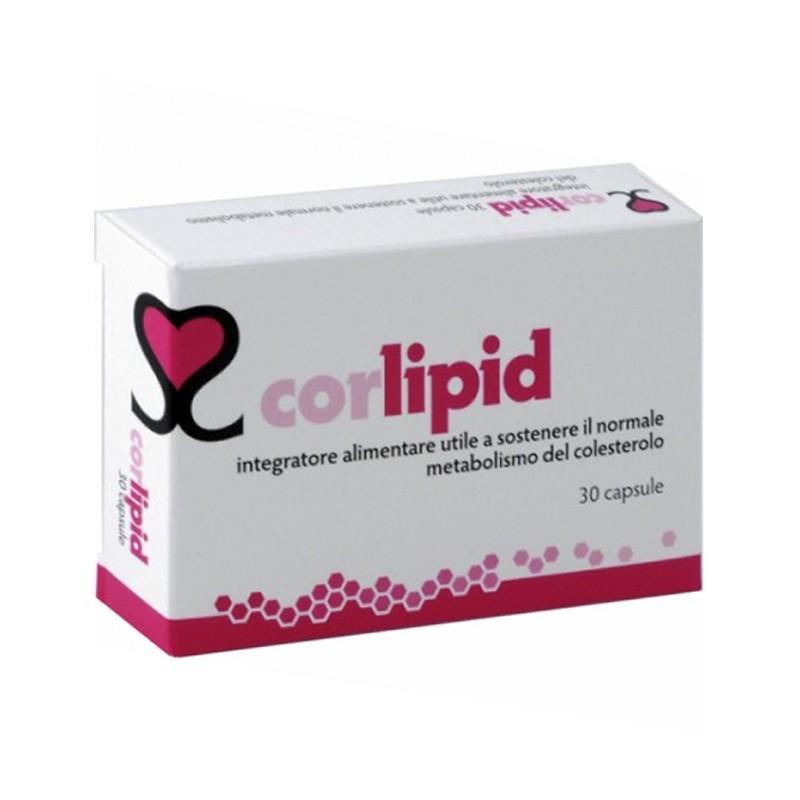 ESSECORE - Corlipid 30 Capsule Integratore Per Il Controllo Del Colesterolo