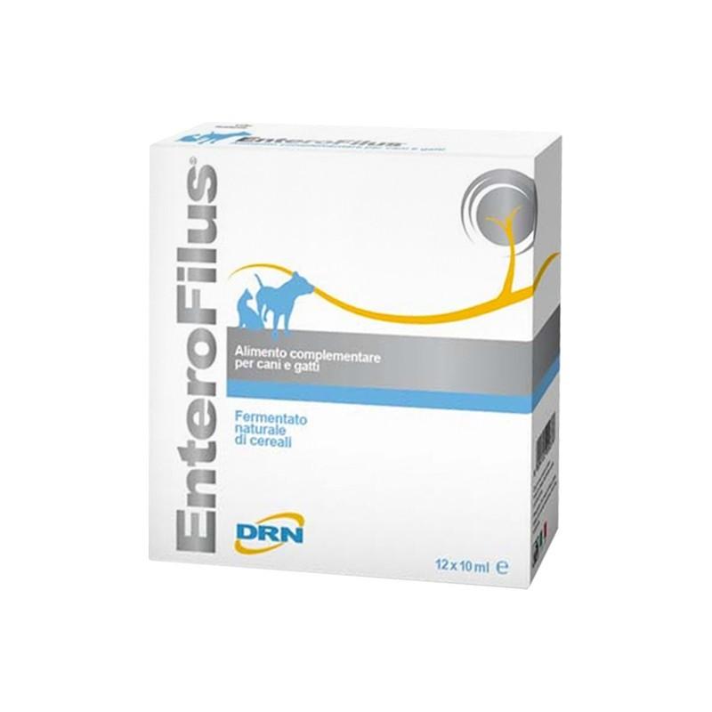 DRN - enterofilus - integratore alimentare per cani e gatti - 36 fiale da 10 ml
