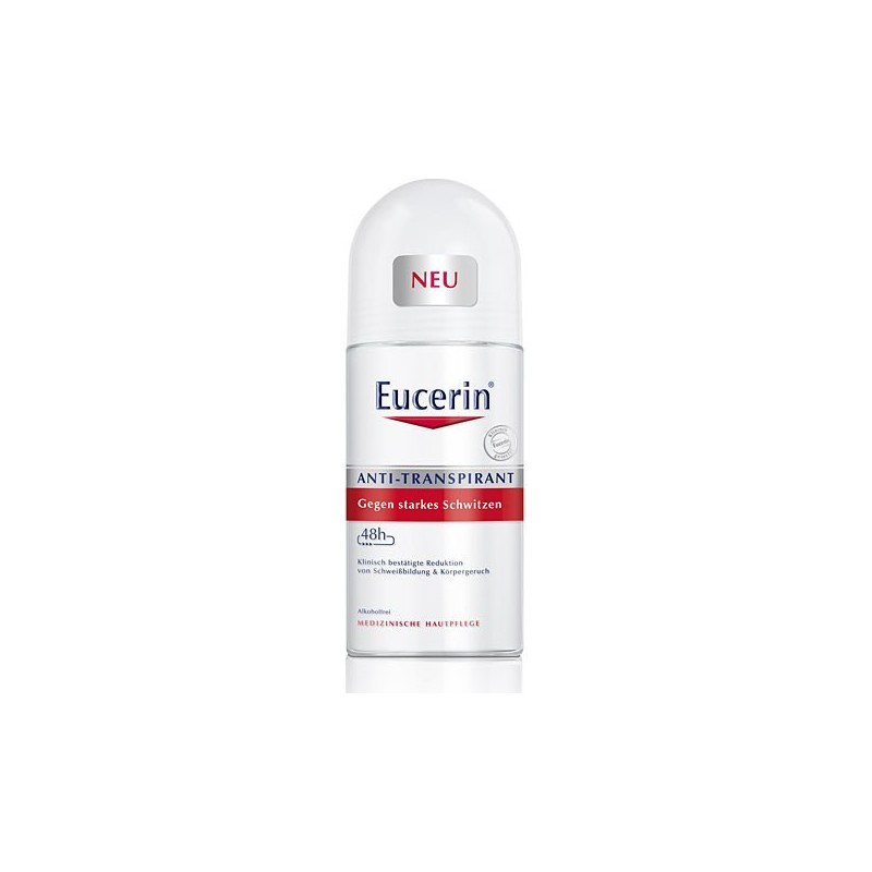 EUCERIN - Deodorante Antitraspirante  Roll On  50 Ml