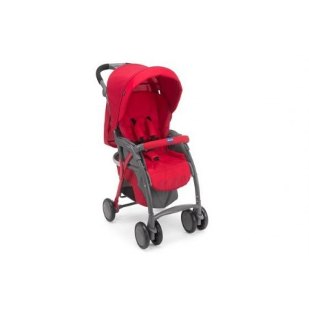 Chicco - passeggino simplicity plus top red