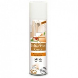 Antipulci Spray Per Cucce E Per Ambienti Domestici Solfac Plus 250 Ml