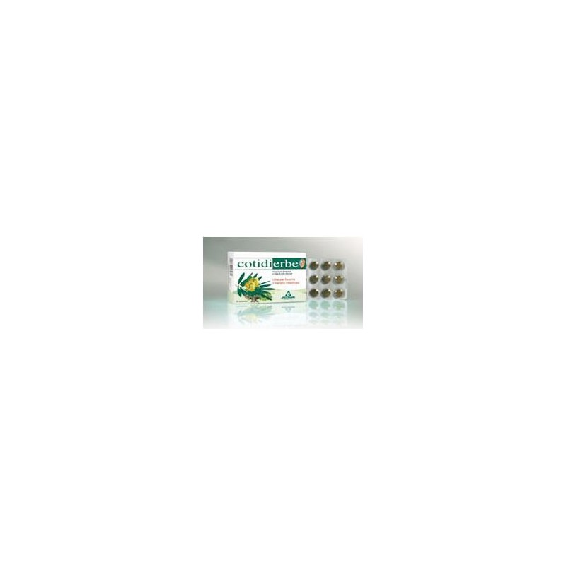 SPECCHIASOL - Cotidierbe 45 Compresse da 400 Mg - Integratore Per Il Transito Intestinale, Stipsi