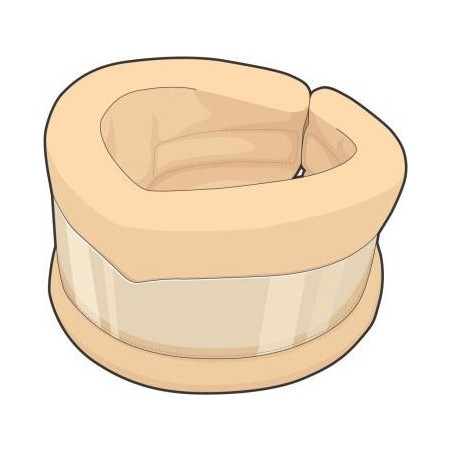 DR. GIBAUD - Ortho - Collare Cervicale Ortopedico Semirigido Medio Taglia 2