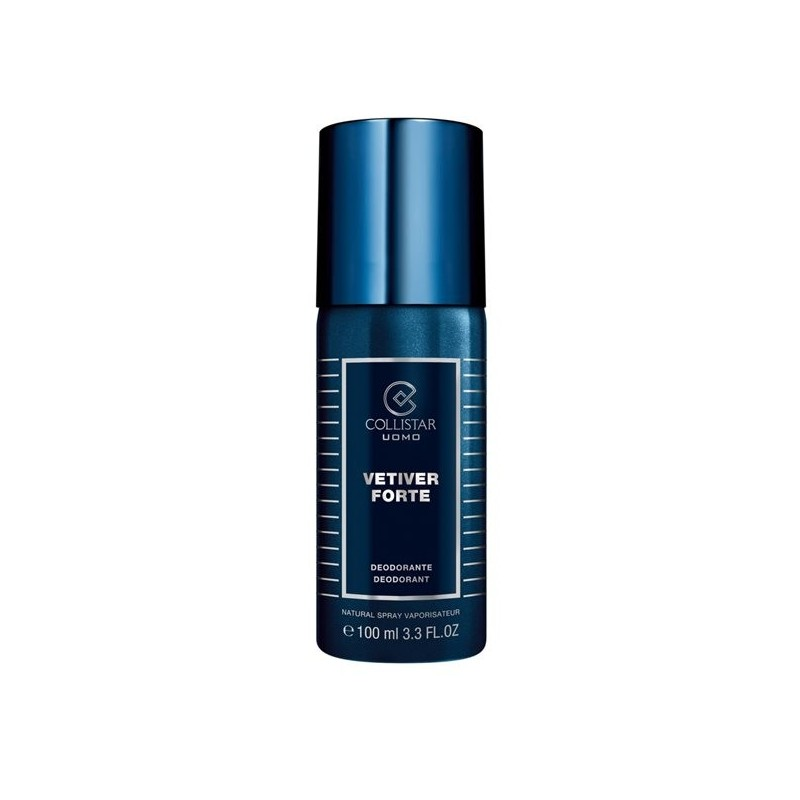 COLLISTAR - uomo vetiver forte - deodorante spray 100 ml