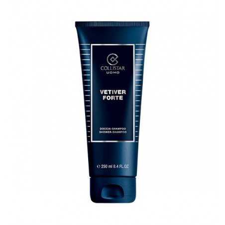 COLLISTAR - uomo vetiver forte - doccia shampoo 250 ml