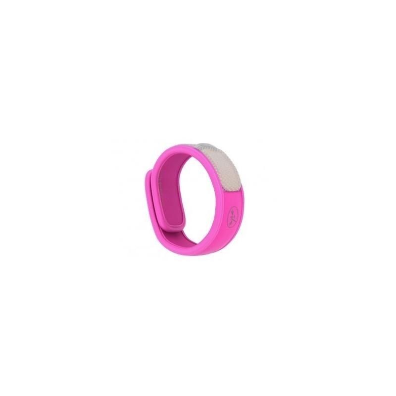 PARAKITO - braccialetto antizanzare tinta unita vari colori + 2 piastrine