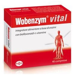 Wobenzym Vital - Integratore Alimentare Immunostimolante 120 Compresse 55,2 G