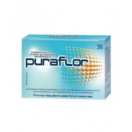 PFIZER - puraflor - integratore alimentare di fermenti lattici probiotici 12 bustine