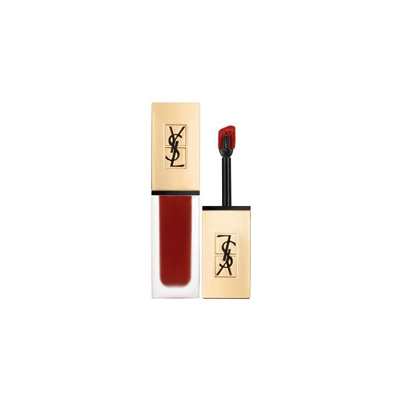 Yves Saint Laurent - tatouage couture - rossetto 08 black red code