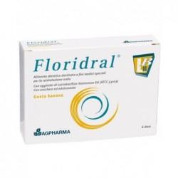 Floridral integratore alimentare per il benessere gastrointestinale 6 bustine