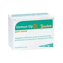 Integratore Alimentare Immunostimolante Immun Up D3 Junior Gusto Arancia 14 Bustine Da 3 Grammi