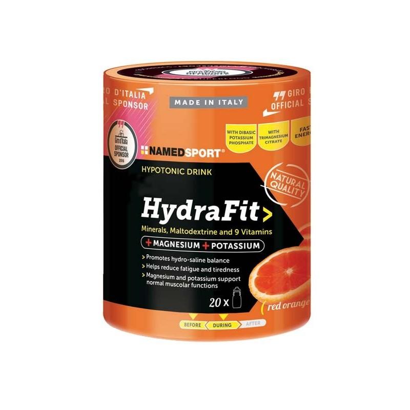 NAMED - Hydrafit Ipotonic Drink 400 g - Integratore alimentare in polvere di Sali Minerali e Vitamine