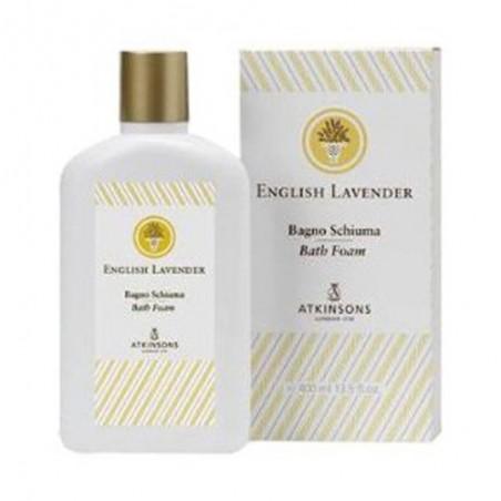 ATKINSONS - english lavender bath foam bagnoschiuma 400 ml