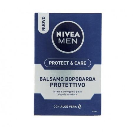 NIVEA - for men protect & care - dopobarba balsamo idratante per pelli normali 100 ml